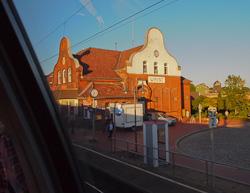 Wrist aus Sicht eines Bahnfahrers